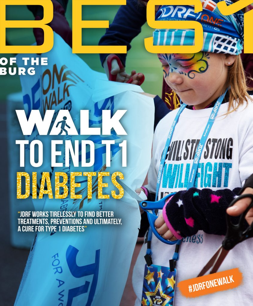 Best of the Burg: JDRF Walks for a Cure for T1 Diabetes