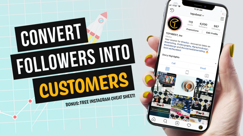 Convert Followers into Customers on Instagram